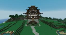 Age of Empires II: Japanese Castle Minecraft Map & Project