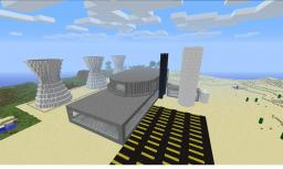 Nuclear Power Plant Minecraft Map & Project