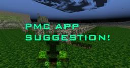 New PMC App Suggestion Minecraft Blog