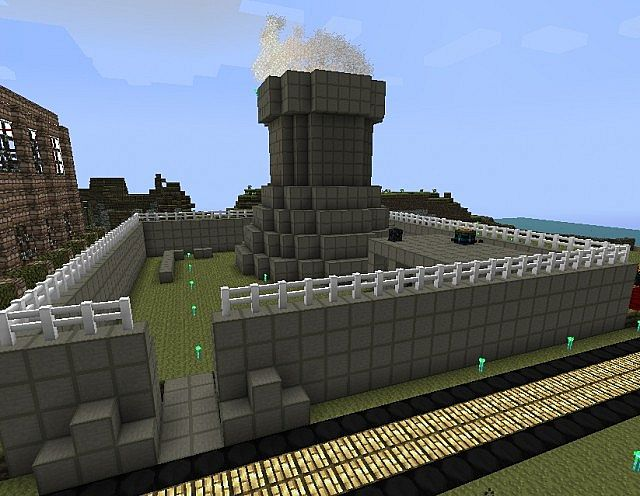Nuclear Power Plant Minecraft Project