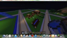village\town Minecraft Map & Project