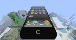 Apple iPhone 4S Minecraft Map & Project