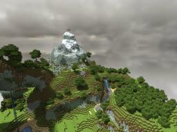 Sacred Valley Mountain [Custom Terrain] Minecraft