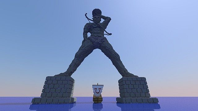 Colossus Of Rhodes Minecraft Project