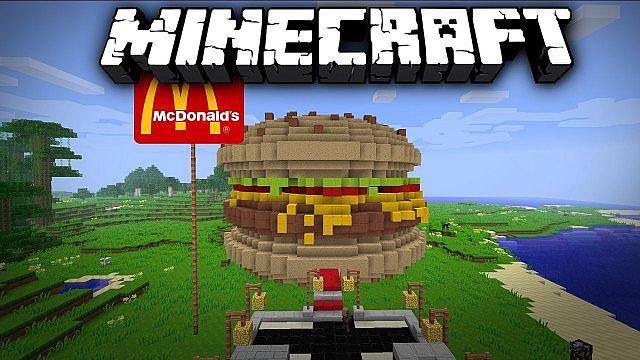 Карта на выживание «Макдональдс» для Майнкрафт 1.9 ...