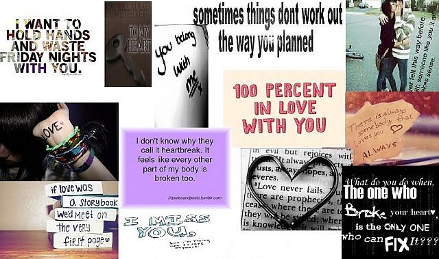 Emo Love Quotes \'I made in a poster thing :)* Minecraft Blog