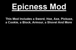 The Epicness mod v1.5 [1.3.2] Minecraft Mod