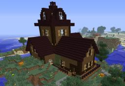 Timelapse Halloween House Minecraft Map & Project