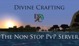 -Divine Crafting Hardcore PvP- [Skills] [Ranks] [MCMMO] [Upgrades] [Nations] Minecraft Server