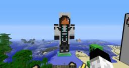 Statue of my character skin! Minecraft Map & Project