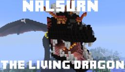Nalsurn, the living dragon Minecraft Project
