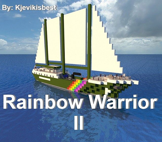 Warriors Of The Rainbow 2 Vietsub: A Greenpeace Ship Minecraft Project