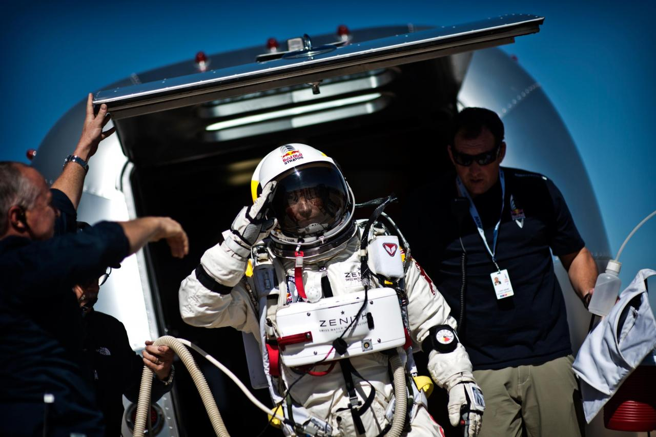 Red Bull Stratos Update: Breaking the Speed of Sound in Freefall