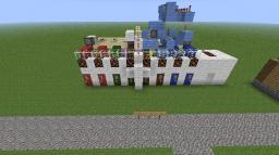 LOCKED/PROTECTiON/COLOR/COMBINATION DOOR (Download) (Big Redstone Device) Minecraft Map & Project