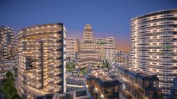 Futuristic City - Area 73-5 Minecraft Map & Project
