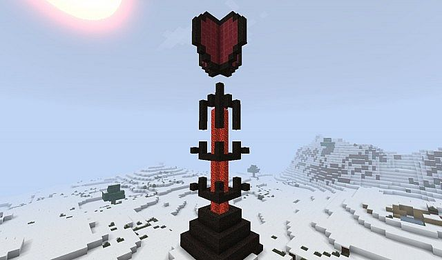 The lava fall of wonder Minecraft Project