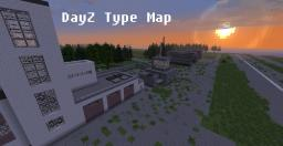 DayZ - Russian/Ukrainian Buildings and Landscape Minecraft Map & Project