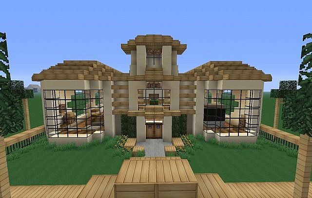 Luxurious villa minecraft project - Minecraft villa ...