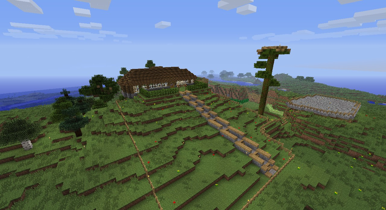 House on the hill minecraft project - House on the hill 2012 ...