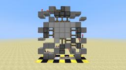 Smallest 1 wide Experimental 3x3 Piston Door
