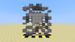 Smallest 1 wide Experimental 3x3 Piston Door Minecraft Map & Project