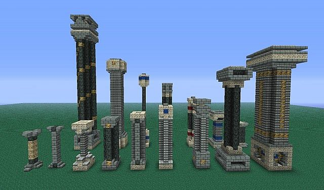 Sanacraft Pillar Collection Minecraft Project