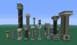 Sanacraft Pillar Collection Minecraft Map & Project