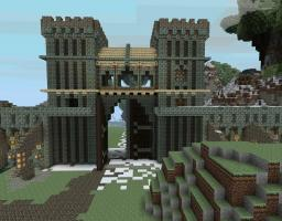 The grand city of Verenthia Minecraft