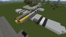 P-51 Mustang Minecraft Map & Project