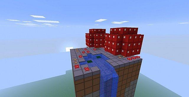 how to get a mushroom stem block in minecraft