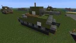 Char M4 Sherman Tank Minecraft