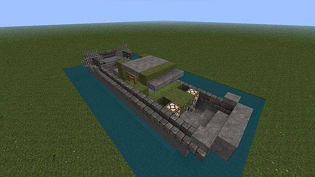 Landing Craft  Vehicle  Personnel  Lcvp  Higgins Boat Minecraft Project