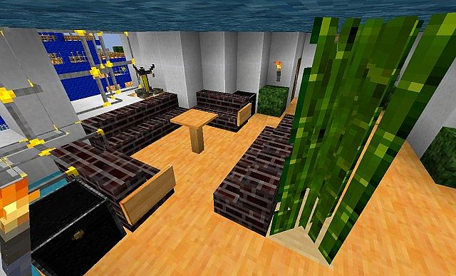 gi modern realistics x16 minecraft 1 5 1 minecraft texture pack. Black Bedroom Furniture Sets. Home Design Ideas