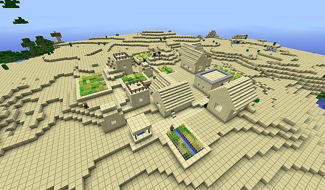 Desert NPC Village