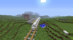 Train Station + Download! Add Your Own Interior. Minecraft Project