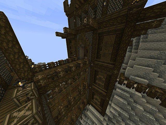 Staircase tower & footbridges