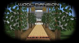 Wool Mansion Minecraft