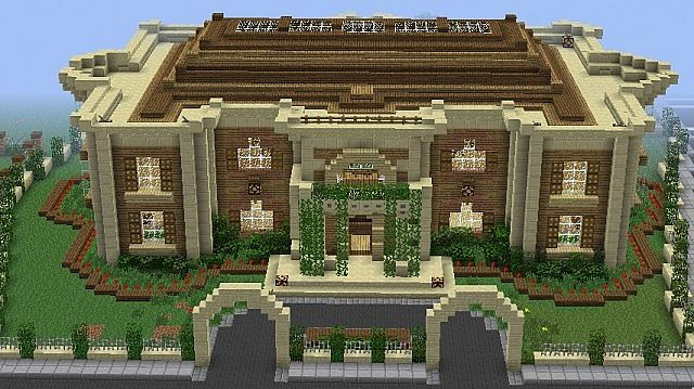 HUGE MINECRAFT MEGA MANSION TOUR (Epic!) - YouTube