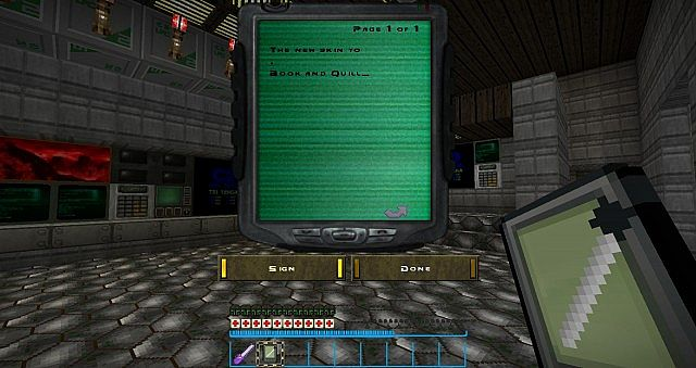 New GUI and PDA texture