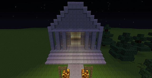 camphalf blood cabins minecraft project