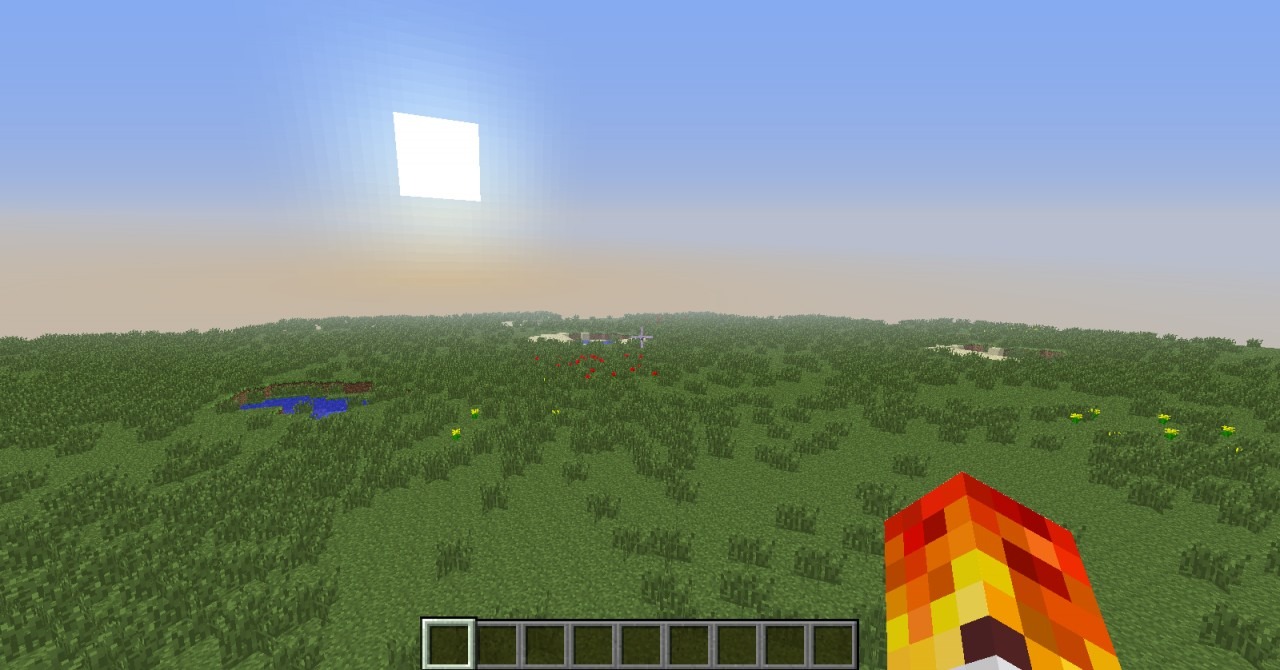Minecraft Flat World Map