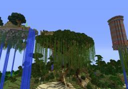Epicki Domek na drzewie / Epic Tree house Minecraft Map & Project