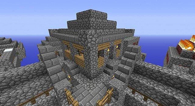 how to make a mushroom farm in minecraft skyblock