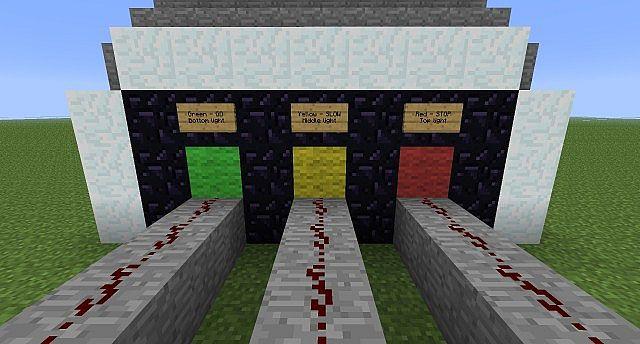 The Traffic Light Australian Version Minecraft Project
