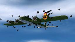 Boeing B-17 Flying Fortress Minecraft Map & Project
