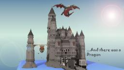 Huge. Stone. Castle: Dragon Included! Minecraft Map & Project