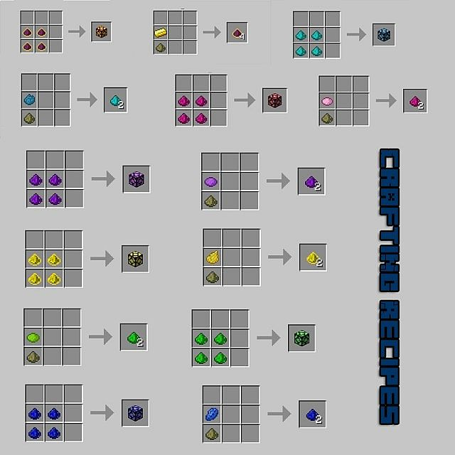 Minecraft stained glass recipe the - How do you make light blue ...