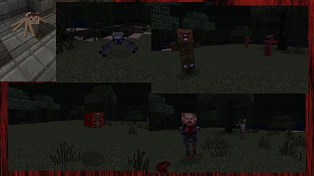 The Overworld Mobs