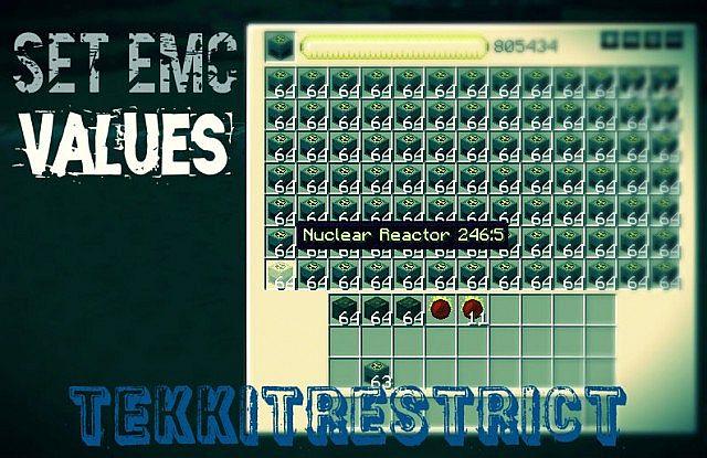 SetEMC: []  or (/tr admin emc tempset [id:data] [emc])
