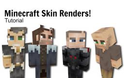 Rendering Minecraft Skins w/ Drop Shadow! [Tutorial] Minecraft